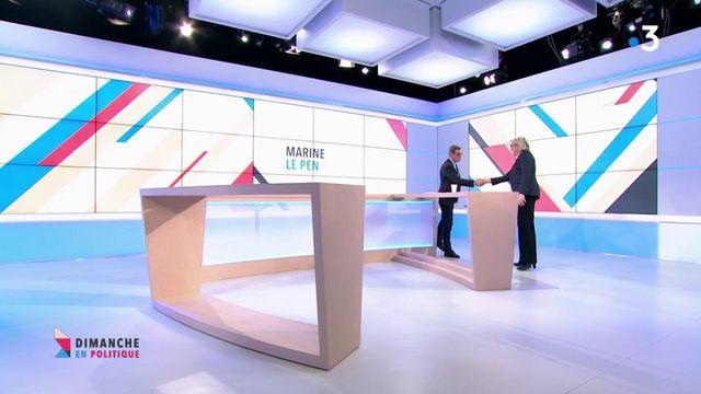 """Marine Le Pen : """"Le FN est devenu un parti de gouvernement"""""""