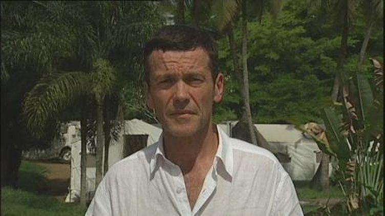 Dominique Derda, envoyé spécial de France 2 en Côte d'Ivoire. (France 2)