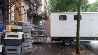 (© Radio France/ Alice Serrano La SPA est mobilisée pour prendre en charge 150 animaux)