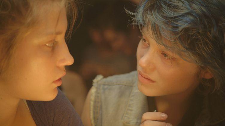 """Une scène du film """"La Vie d'Adèle"""", d'Abdellatif Kechiche, Palme d'or 2013. (ALCATRAZ FILMS / ARCHIVES DU 7EME ART / AFP)"""