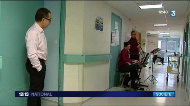 Yonne : l'hôpital de Sens utilise la musique pour apaiser ses patients
