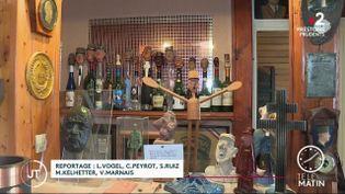 Dans le musée privé deMichel Rozier, dans le Haut-Rhin. (France 2)