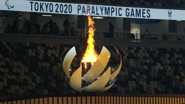 La cérémonie de cluture des jeux paralympiques est à suivre en direct sur France 3. (YASUYOSHI CHIBA / AFP)