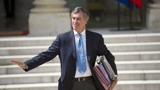 Le ministre du Budget, Jérôme Cahuzac, le 6 juin 2012 à Paris. (FRED DUFOUR / AFP)