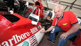 L'ancien pilote de Formule 1 Jean-Pierre Beltoise à Monaco, le 12 mai 2012. (MAXPPP)