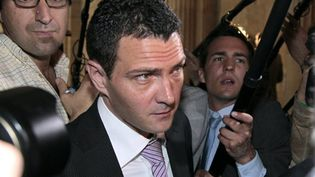Jérome Kerviel, ex-trader à la Société générale, au tribunal de Paris le 08 juin 2010. (AFP/JACQUES DEMARTHON)