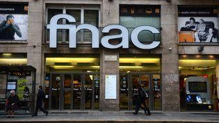 Un magasin Fnac à Milan (Italie), le 29 novembre 2012. (OLIVIER MORIN / AFP)