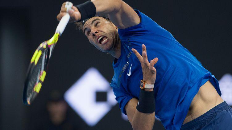 Rafael Nadal (NICOLAS ASFOURI / AFP)