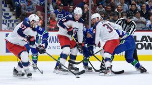 Bataille au sommet en NHL (DEREK CAIN / ICON SPORTSWIRE)