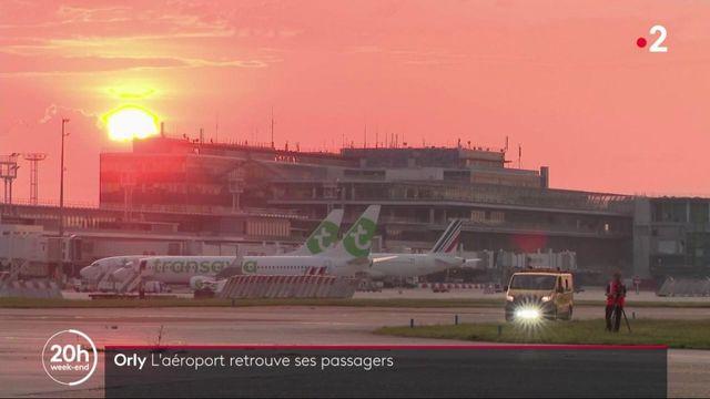 Aéroport d'Orly : les premiers avions ont quitté le tarmac