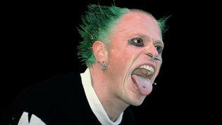Keith Flint vers 1996 à Knebworth (sud de l'Angleterre)  (Balkanpix.com / Rex / Shutterstock / SIPA)