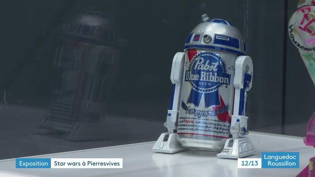 Star Wars exhibition at Pierresvives