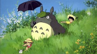 "Une image du film ""Mon Voisin Totoro"" (1988) du maître de l'animation Hayao Miyazaki. (STUDIO GHIBLI)"