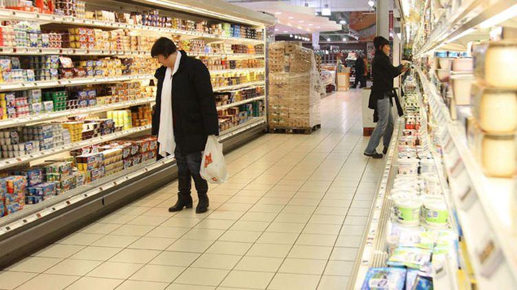 (Des margarines, des produits laitiers frais et des sauces sont enrichis en phytostérol © Maxppp)