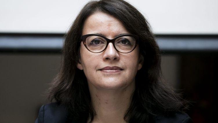 Cécile Duflot, directrice générale d'Oxfam et ancienne dirigeante d'Europe Écologie-Les Verts, à Paris le 18 décembre 2018. (VINCENT ISORE / MAXPPP)
