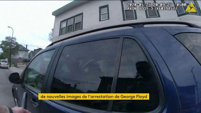 Etats-Unis : de nouvelles images de l'arrestation de George Floyd