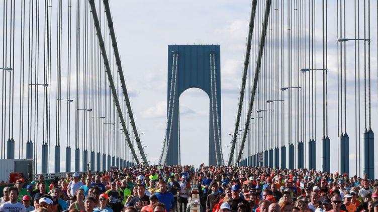 Le marathon de New York (MICHAEL REAVES / GETTY IMAGES NORTH AMERICA)