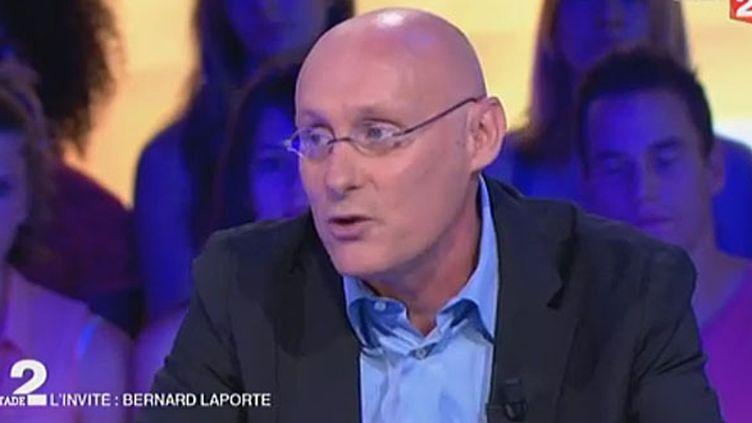 Bernard Laporte à Stade 2