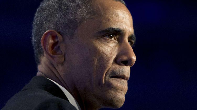 Barack Obama à Washington (Etats-Unis), le 2 octobre 2014. (SIPANY / SIPA  )
