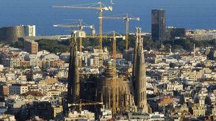 La Sagrada Familia, le chef d'oeuvre de Gaudi, devrait être achevé en 2026. ( BORGESE MAURIZIO / HEMIS.FR)
