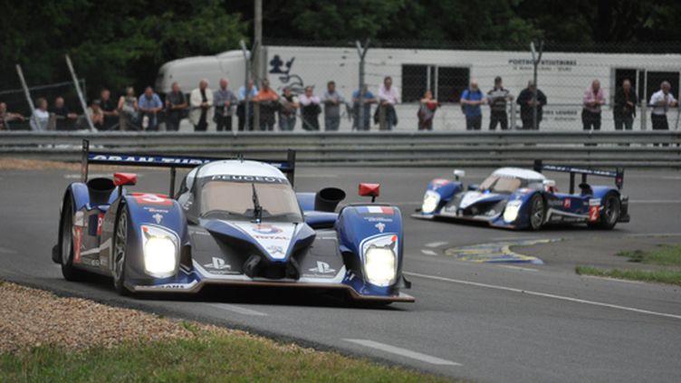 Les Peugeot ont dominé les essais des 24 Heures du Mans