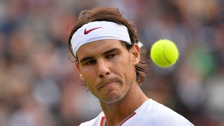 Rafael Nadal dans un mauvais jour (BEN STANSALL / AFP)