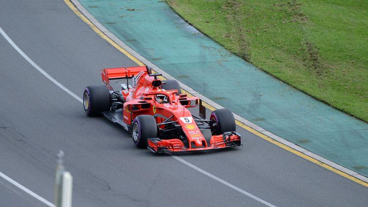 Le pilote allemand de Ferrari, Sebastian Vettel. (RECEP SAKAR / ANADOLU AGENCY)