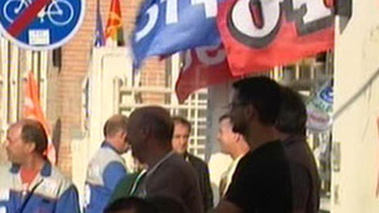 Les salariés de Molex se battent pour sauver leur usine (© F3)