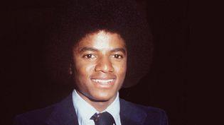 Michael Jackson, à la fin des années 70.  ( Ralph Dominguez/Alphapress/MaxPPP)