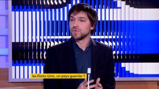 Julien Blisson, invité du 23 heures (FRANCEINFO)