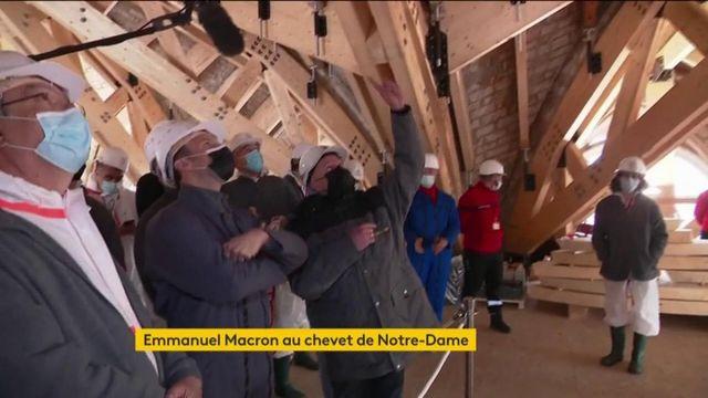 Notre-Dame de Paris : Emmanuel Macron maintient le délai d'avril 2024 pour une reprise du culte