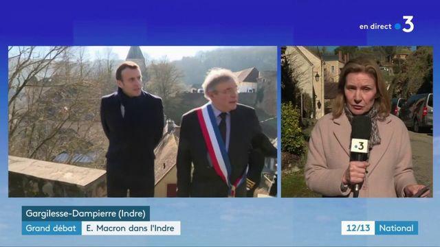 Grand débat : Emmanuel Macron rencontre des patrons dans l'Indre