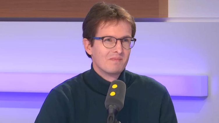 Stéphane Gigandet, fondateur d'Open Food Facts, invité de franceinfo mardi 22 janvier 2019. (FRANCEINFO / RADIOFRANCE)