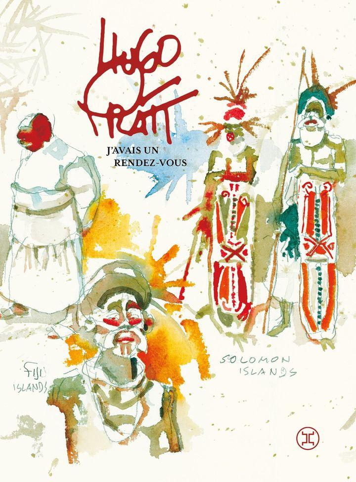 """Couverture de""""J'avais un rendez-vous"""", d'Hugo Pratt, 2020 (EDITIONS LE TRIPODE)"""