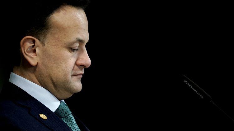Le Premier ministre irlandais Leo Varadkar. (KENZO TRIBOUILLARD / AFP)