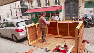 Déconfinement : le boom des terrasses en bois (France 3)