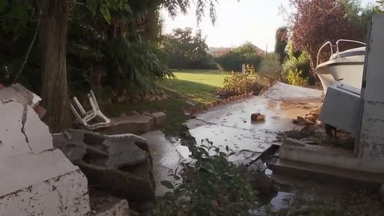 Les intempéries qui ont sévi dans le sud de la France mercredi 23 octobre ont causé la mort de trois personnes. (FRANCE 2)