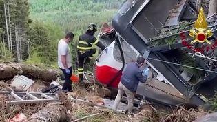 Chute d'un téléphérique en Italie : la thèse de l'accident se dessine (France 2)