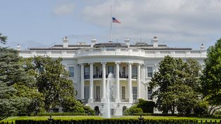 La Maison Blanche, à Washington (Etats-Unis). (JONAS EKSTROMER / TT NEWS AGENCY)