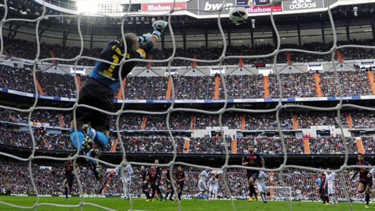 Victor Valdes (JAVIER SORIANO / AFP)