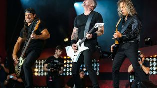 Depuis huit ans, Metallica a beaucoup tourné, donnant des concerts aux quatre coins du monde (PAPEO/VARIETY/SHUTTERST/SIPA / REX)