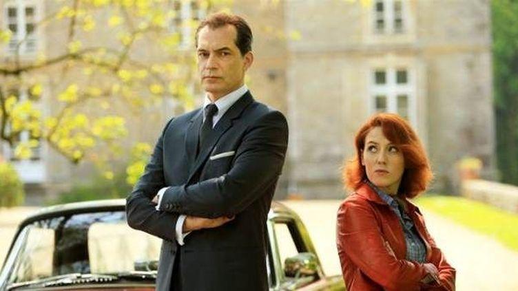Samuel Labarthe et Blandine Bellavoir : les nouveaux héros de la série  (Gilles Scarella/FTV)