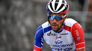 Thibaut Pinot en souffrance sur le début du Tour de France 2020 (DAVID STOCKMAN / BELGA MAG)