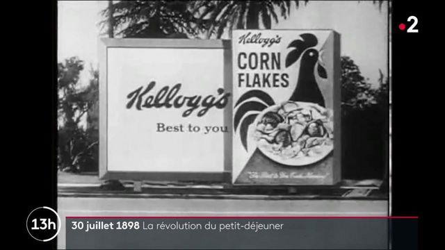 30 juillet 1898 : date de naissance des corn flakes