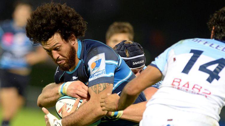Rene Ranger (Montpellier) va rejoindre les Auckland Blues (BRUNO CAMPELS / MAXPPP)