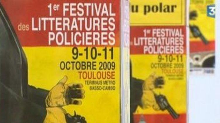 Premier festival du Polar à Toulouse  (Culturebox)