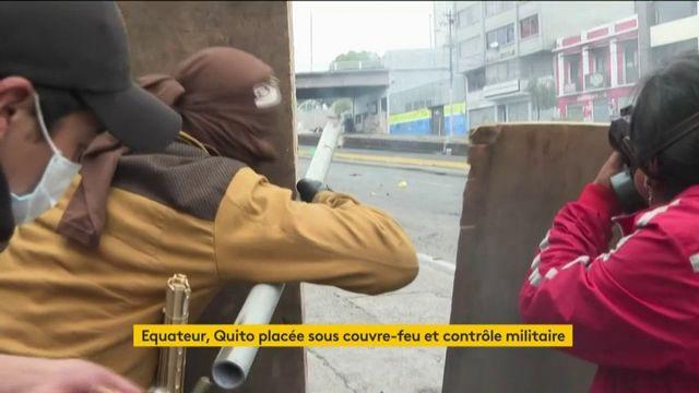 Équateur : la capitale placée sous contrôle militaire