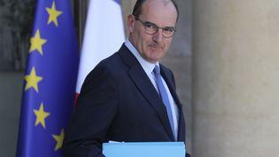 Le Premier ministre Jean Castex, le 7 juillet 2020 au palais de l'Elysée. (LUDOVIC MARIN / AFP)
