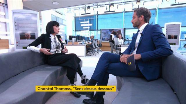 Chantal Thomass était l'invitée de Julien Benedetto dans le 22h-minuit.