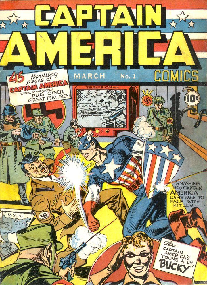 Dans les années 30, Captain America combat les nazis. (COPYRIGHT & TM MARVEL CHARACTERS 2015)